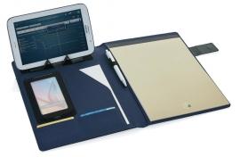 Basic Tech Portfolio blauw