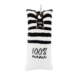 Sleutelhanger 100% Mama en Papa