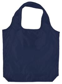 gerecyclede PET opvouwbaar shopper, marine blauw