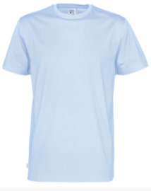 t-shirt Men Cottover kleur lichtblauw