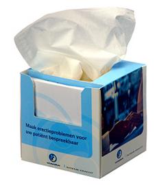 Desk box memo tissue box
