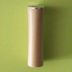 Ronde mobiele oplader gemaakt van hout - Roundwood