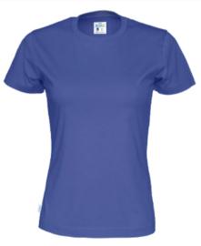Cottover T-shirt, royal blue