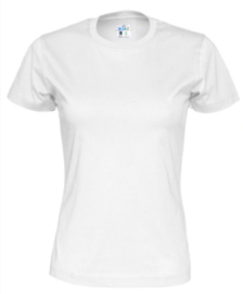 Cottover T-shirt, wit
