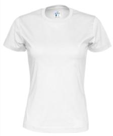 T-shirt Gemaakt Van Organische Katoen, Wit