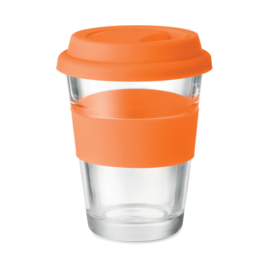 Glazen Drinkbeker, Oranje