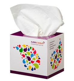 Container tissue box