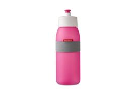 Bidon 500 ml, Roze