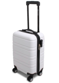 Cabin Size Napoli RPET Trolley, Wit