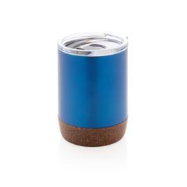 Koffiebeker Met Kurk, Blauw