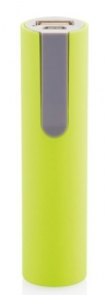 Powerbank 2.200 mAh, groen