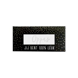 Complimenten Zeep, Oppas