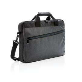 900D Laptoptas PVC Vrij, Zwart