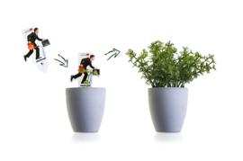 Greencard van groeipapier