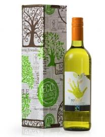Zuid Afrikaanse Fairtrade Biologische wijn ReLeaf