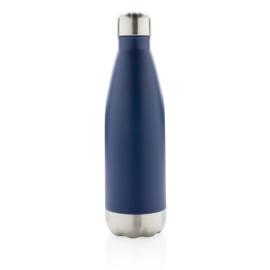 Vacuüm geïsoleerde roestvrijstalen fles, blauw