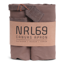 Norländer Canvas Apron Brown