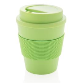 Herbruikbare Koffiebeker met Schroefdop, Groen