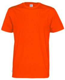 t-shirt Men Cottover kleur oranje