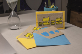 Elephant Poo Postcards