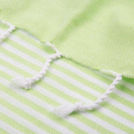 XL ECO Cotton Towel, Lime Green