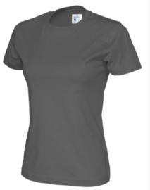 T-shirt Gemaakt Van Organische Katoen, Donkergrijs