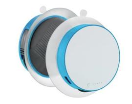 Port solar oplader, blauw