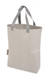 Washed Kraft Paperbag 100% Recycled, Grijs