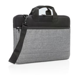Laptophoes PVC vrij, grijs