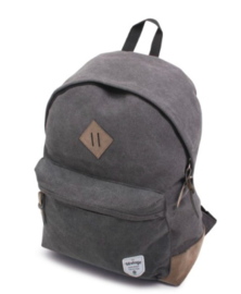 Canvas backpack, grey
