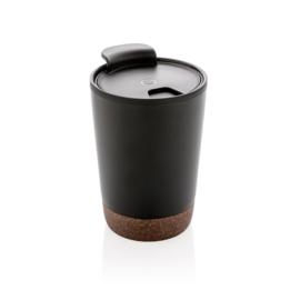 Kurk Koffiebeker, Zwart