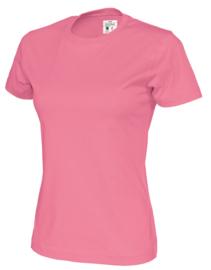 Cottover T-shirt, roze