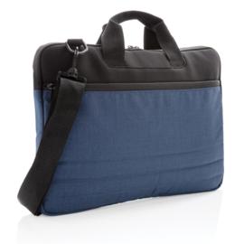Laptophoes PVC vrij, blauw