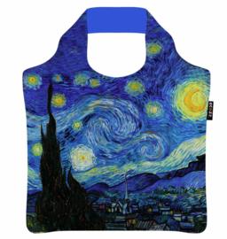 ECOZZ opvouwbare tas Vincent van Gogh de Sterrennacht