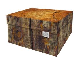 Dutch Design Storage Box Kerst Tree Trunk
