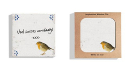 Dutch Design Wisdom Tiles | Kerst