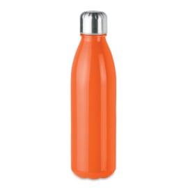 Drinkfles met RVS Dop, Oranje
