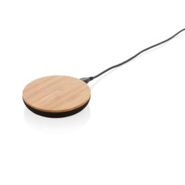 Bamboo X 5W draadloze oplader, bruin