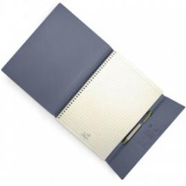 Eco notitieboek Summer kleur blauw