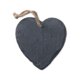 Hartvormige leistenen hanger