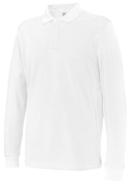 Cottover polo, long sleeve