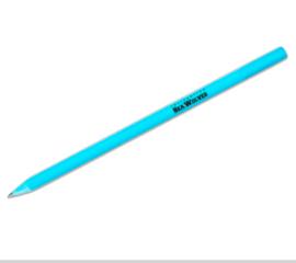 gerecycled potlood gemaakt van een CD box, lichtblauw