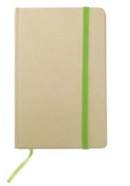 A6 Gerecycled memoblokje, groen