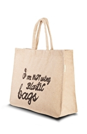 Jute Slogan Bag