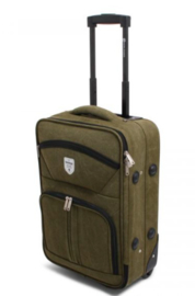 Canvas Trolley, groen