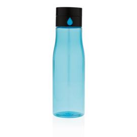 Aqua hydratatie tritan fles, blauw