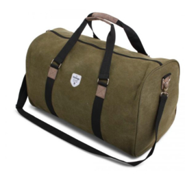 Canvas Weekendtas, Green