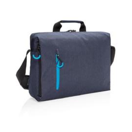 "Lima 15.6"" RFID laptop tas PVC-vrij, blauw"