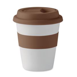 PLA Koffiemok, Bruin