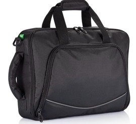 PVC Vrije Laptoptas, Zwart